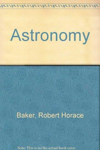 9780442781576: Astronomy