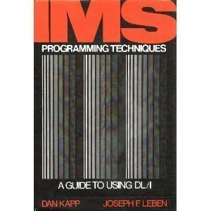 9780442805050: I. M. S. Programming Techniques: Guide to Using D. L./1