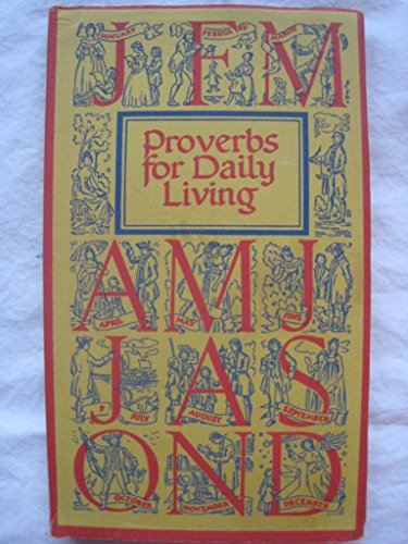Proverbs for Daily Living: Decorations by Johannes Troyer.