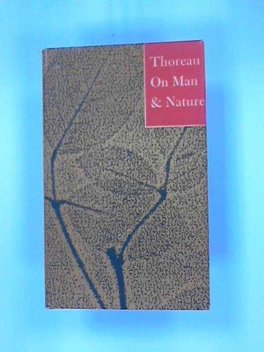 9780442824280: Thoreau: On Man and Nature