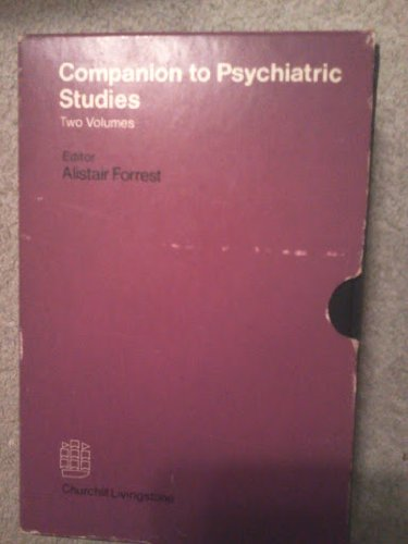 9780443009334: Companion to Psychiatric Studies