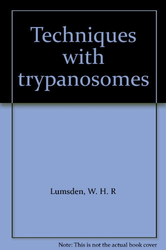 9780443010590: Techniques with trypanosomes