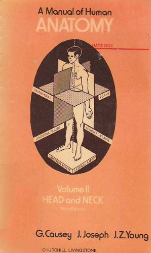 9780443012419: A Manual of Human Anatomy, Vol. 2: Head and Neck