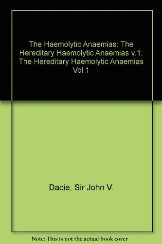 Haemolytic Anaemias: The Hereditary Haemolytic Anaemias