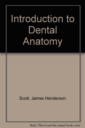 9780443016202: Introduction to Dental Anatomy