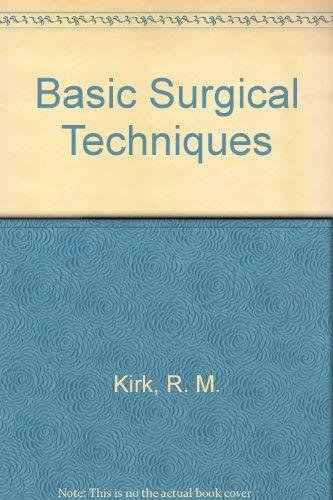 9780443017759: Basic Surgical Techniques