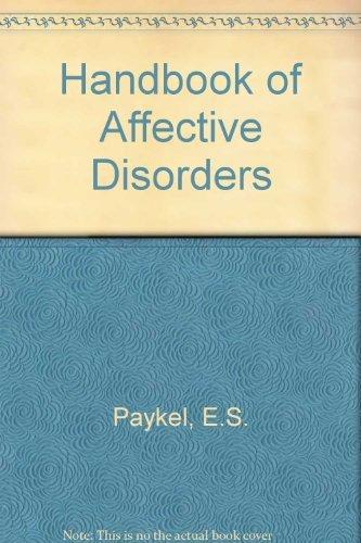 9780443020360: Handbook of Affective Disorders