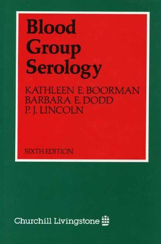 9780443026362: Blood Group Serology