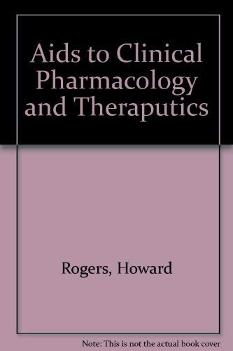 9780443026805: Aids to Clinical Pharmacology and Therapeutics