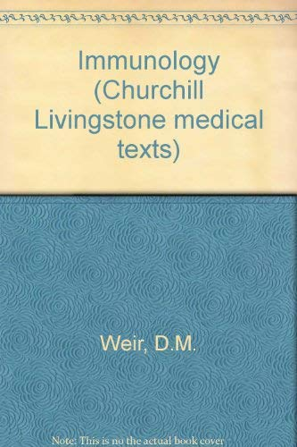 9780443028403: Immunology, an outline for students of medicine and biology (Churchill Livingstone medical text)