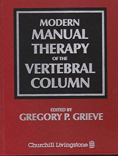 9780443030093: Modern Manual Therapy of the Vertebral Column