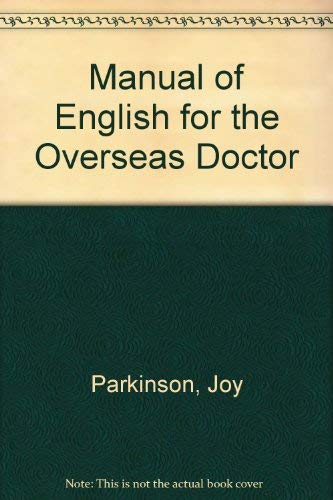9780443031335: Manual of English for the Overseas Doctor