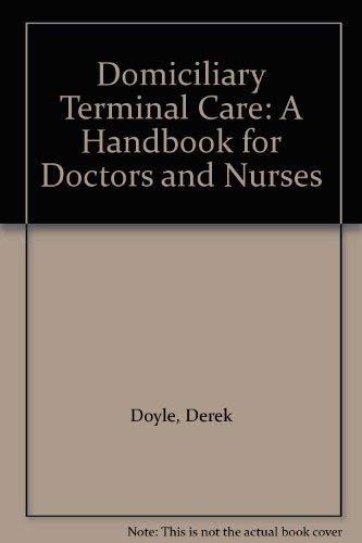 Domiciliary Terminal Care: Doyle, Derek