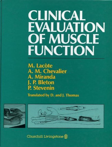 9780443037207: Clinical Evaluation of Muscle Function