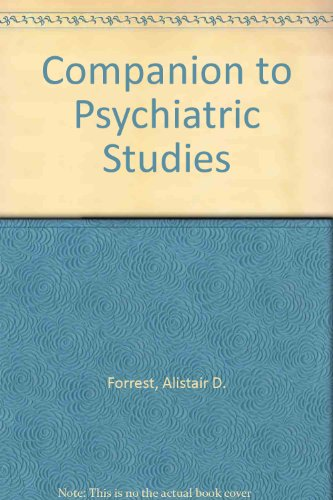 9780443037863: Companion to Psychiatric Studies