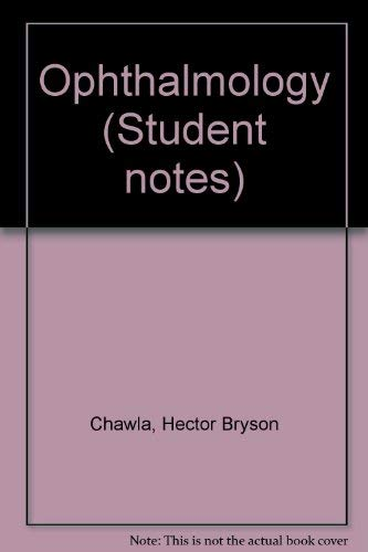 9780443039065: Ophthalmology (Student notes)