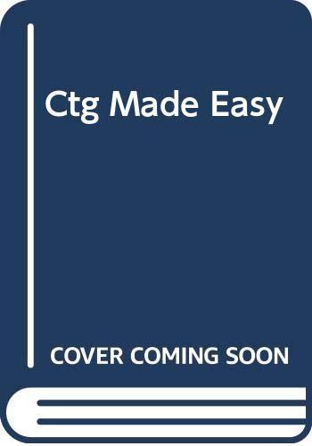 9780443044397: Ctg Made Easy