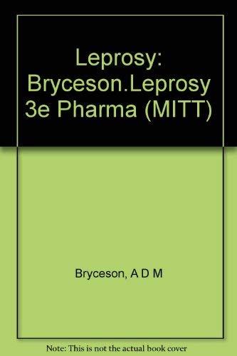 9780443044656: Leprosy: Bryceson.Leprosy 3e Pharma (MITT)
