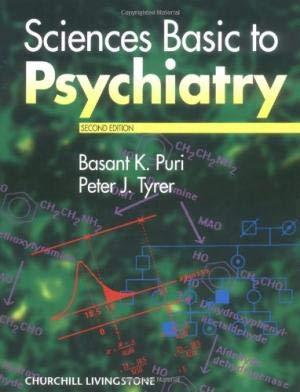 9780443044786: Sciences Basic to Psychiatry (Intensive care nursing)