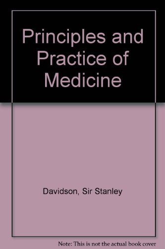 9780443044823: Davidson's Principles and Practice of Medicine A Textbook for Students and Doctors