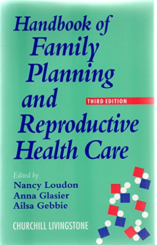 9780443051579: Handbook of Family Planning and Reproductive Health Care