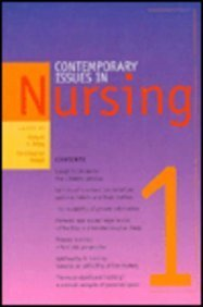 Contemporary Issues in Nursing 1: Biley, Francis C.; Maggs, Christopher (eds)