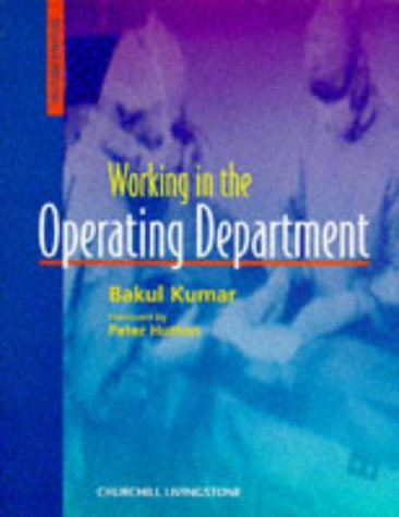 9780443055737: Working in the Operating department