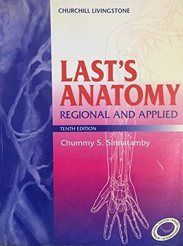 9780443056192: Last's Anatomy: Regional and Applied
