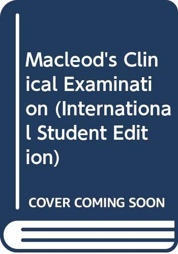 9780443056338: Macleod's Clinical Examination (International Student Edition)
