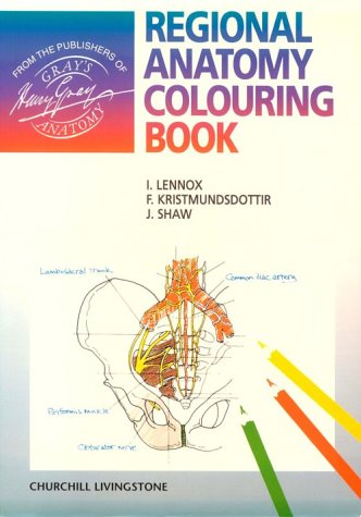 9780443057274: Regional Anatomy Colouring Book