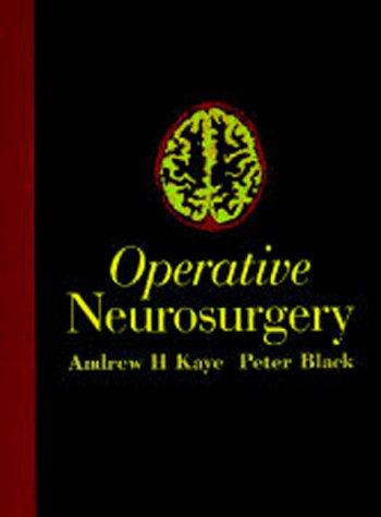 9780443058271: Operative Neurosurgery: 2-Volume Set, 1e