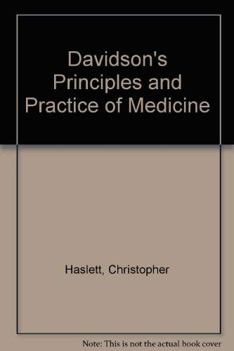9780443060007: Davidson's Principles and Practice of Medicine