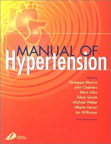 9780443061950: Manual of Hypertension
