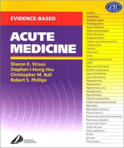 9780443064111: Evidence Based Acute Medicine