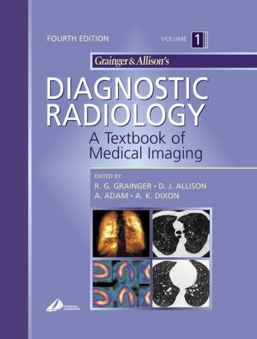 9780443064326: Grainger & Allison's Diagnostic Radiology: A Textbook of Medical Imaging, 3-Volume Set