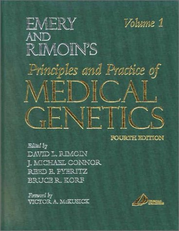 9780443064340: Emery and Rimoin's Principles and Practice of Medical Genetics: 3-Volume Set, 4e (Principles and Practice of Medical Genetics (Emery & Rimoin))