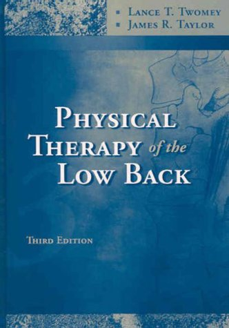 9780443065521: Physical Therapy of the Low Back