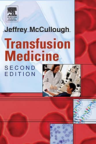 9780443066481: Transfusion Medicine, 2e