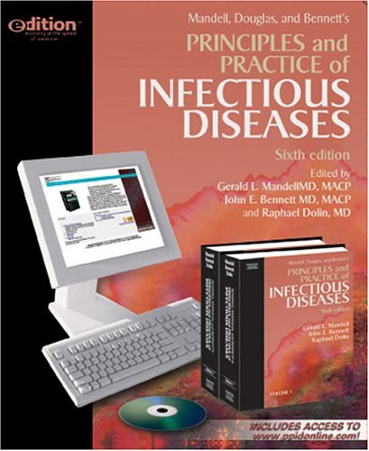 9780443066733: Principles and Practice of Infectious Diseases e-dition: Text with Continually Updated Online Reference, 2-Volume Set, 6e