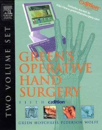 9780443066740: Green's Operative Hand Surgery e-dition: Text with Continually Updated Online Reference, 2-Volume Set, 5e