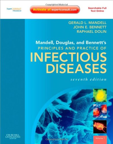 9780443068393: Mandell, Douglas, and Bennett's Principles and Practice of Infectious Diseases: Expert Consult Premium Edition - Enhanced Online Features and Print (Two Volume Set)