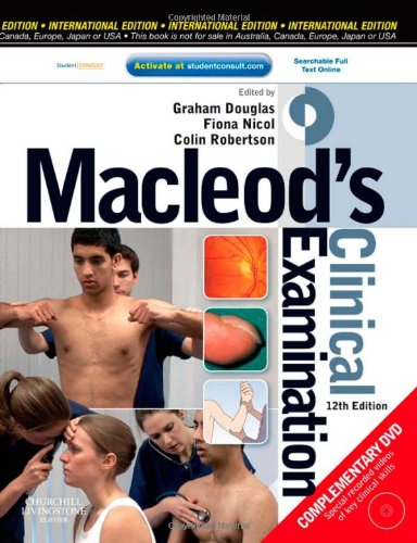 9780443068485: Macleod's Clinical Examination: With STUDENT CONSULT Online Access