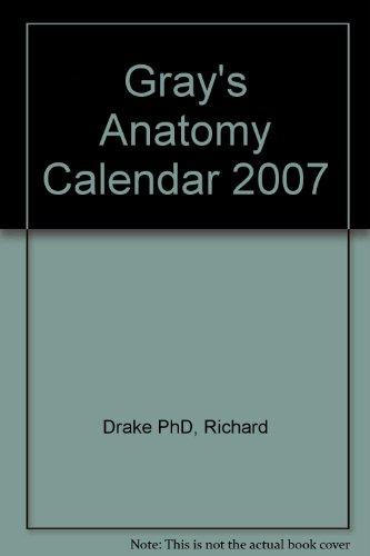 9780443068522: Gray's Anatomy Calendar 2007