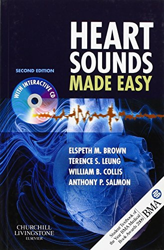 9780443069079: Heart Sounds Made Easy with CD-ROM, 2e