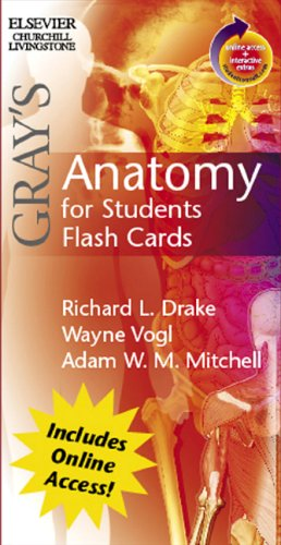 9780443069109: Gray's Anatomy for students flash cards:with student consult Online Access