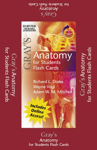 9780443069109: Gray's Anatomy for Students Flash Cards: With STUDENT CONSULT Online Access
