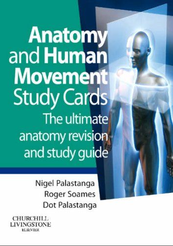 9780443069130: Anatomy and Human Movement Study Cards, 1e
