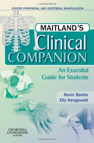 9780443069338: Maitland's Clinical Companion: An Essential Guide for Students, 1e