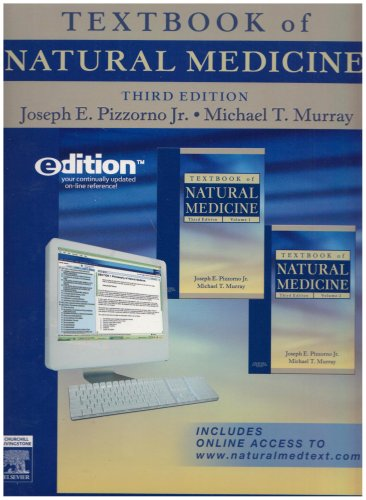 Textbook of Natural Medicine e-dition: Text with Continually Updated Online Reference, 2-Volume Set...