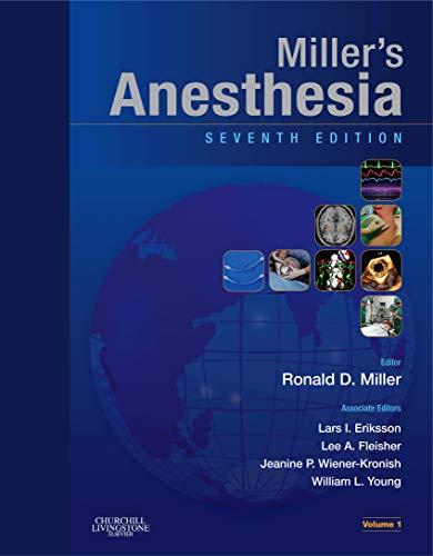 Miller's Anesthesia: Ronald Miller